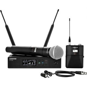 Shure QLXD124/85 Digital Wireless Combo Microphone System (G50: 470 to 534 MHz)