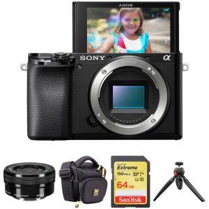 Sony Alpha a6100 Mirrorless Digital Camera