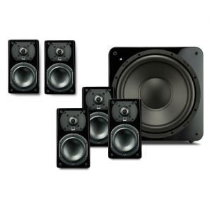 SVS Prime Satellite 5.1-Channel Home Theater Speaker System (Piano Gloss Black)