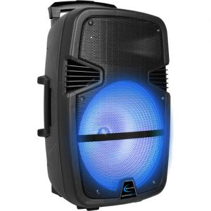"Technical Pro BOOM15 Rechargeable 15"" Bluetooth LED Speaker"