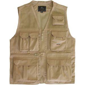 Tritek Seyhun Air Camera & Travel Vest (Large, Desert Beige)