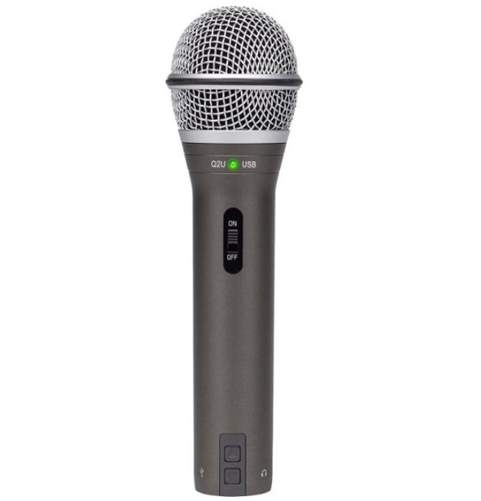 Samson - Q2U Dynamic USB Microphone