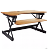 Height Adjustable Sit To Standing Desk Riser - Rocelco