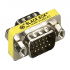 Black Box HD15 VGA M/M Slimline Gender Changer, Male to Male