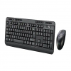 Adesso EasyTouch WKB-1320CB - keyboard and mouse set - QWERTY - US