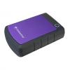 Transcend StoreJet 25H3P - hard drive - 1 TB - USB 3.0