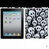 MYBAT For Apple iPad 2/3/4 Black White Screaming Ghosts