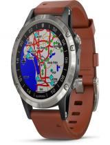 Garmin D2 Delta Aviator Watch (47mm, Brown Leather Band)
