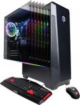 CyberPowerPC - Gaming Desktop - AMD Ryzen 5 3600 - 8GB Memory - AMD Radeon RX 580 - 2TB HDD + 240GB SSD - Black