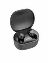 Wholesale Bluetooth 5.0 True TWS Wireless Mini Earbuds Pods Buds Headset with Portable Charger (Black)