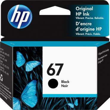 HP - 67 Standard Capacity - Black Ink Cartridge